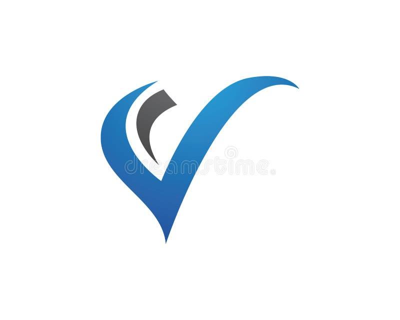 Β πρότυπο λογότυπων επιστολών ελεύθερη απεικόνιση δικαιώματος