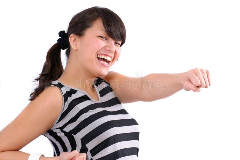 γάιδαρος που κλωτσά μερ&i στοκ εικόνες με δικαίωμα ελεύθερης χρήσης