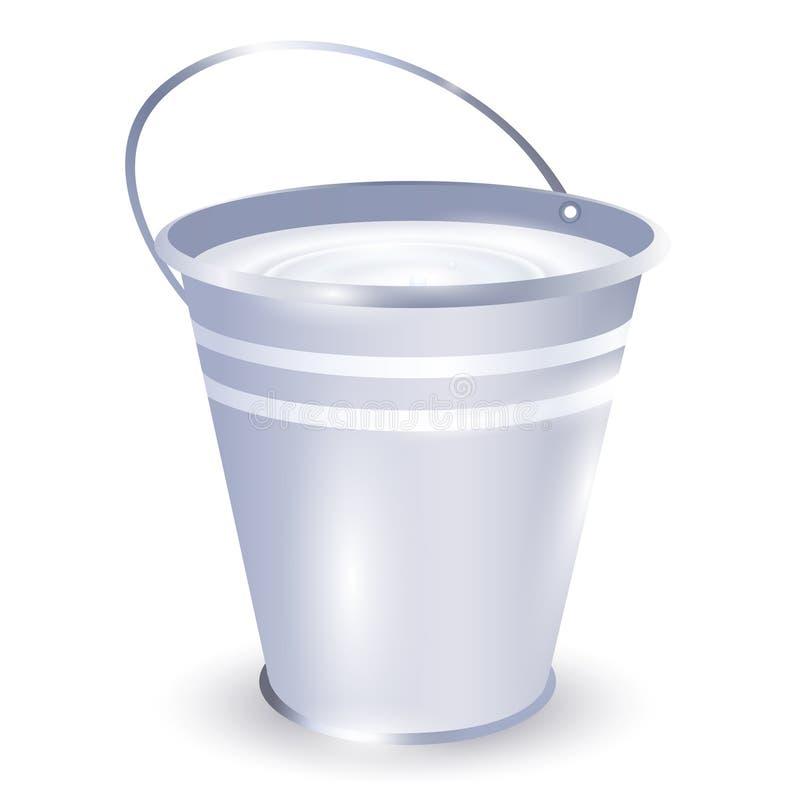 γάλα κάδων ελεύθερη απεικόνιση δικαιώματος