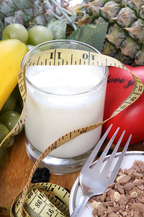 Γάλα και ικανότητα στοκ φωτογραφία με δικαίωμα ελεύθερης χρήσης