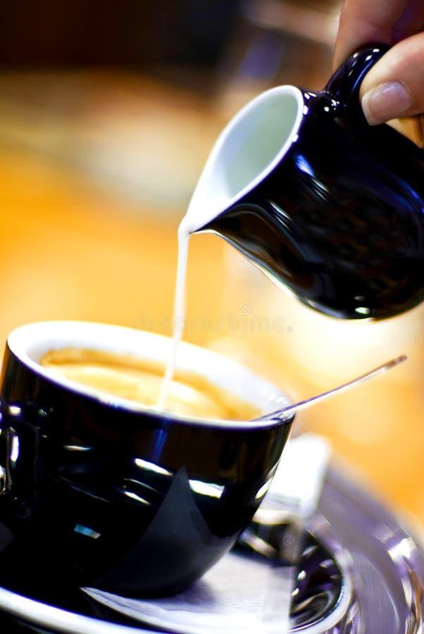 γάλα καφέ στοκ φωτογραφία
