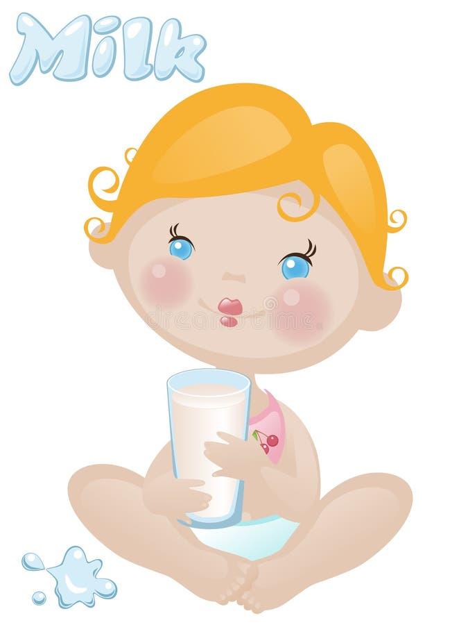 γάλα μωρών ελεύθερη απεικόνιση δικαιώματος