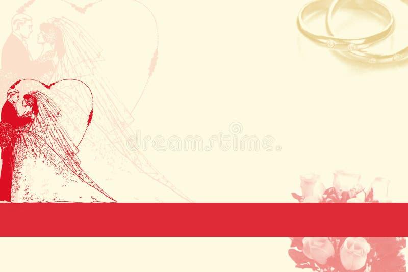 γάμος ανασκόπησης διανυσματική απεικόνιση