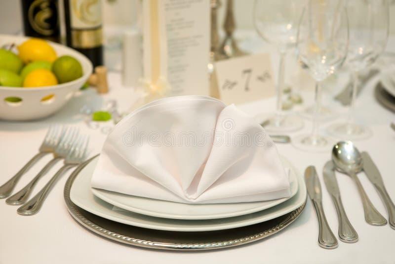 γάμος γευμάτων στοκ φωτογραφίες
