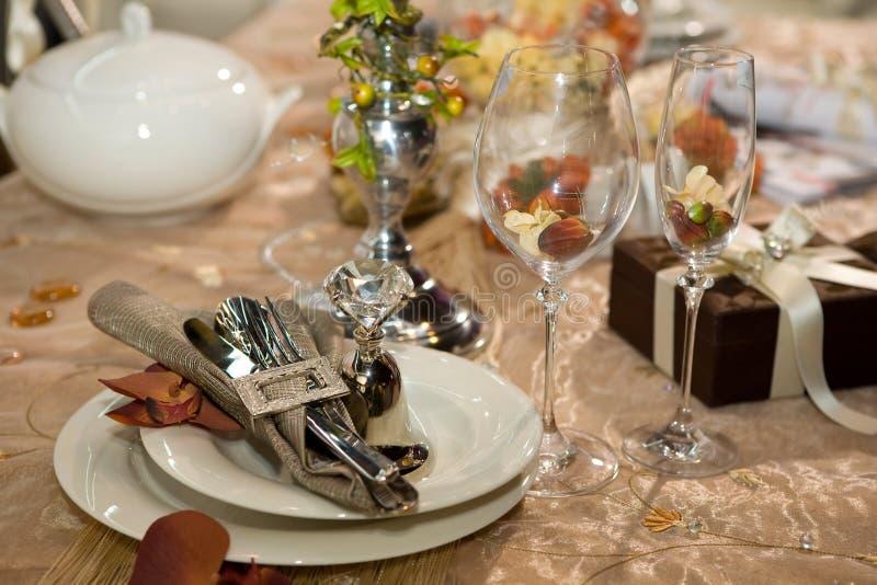 γάμος γευμάτων στοκ εικόνες με δικαίωμα ελεύθερης χρήσης