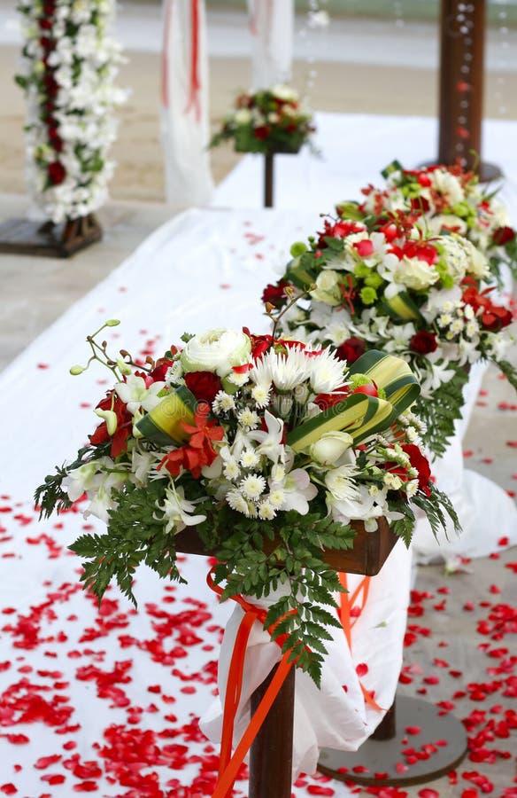 γάμος διακοσμήσεων παρα& στοκ φωτογραφίες