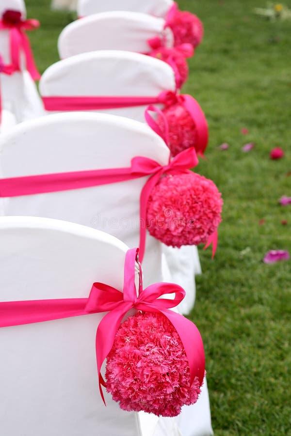 γάμος εδρών στοκ φωτογραφίες