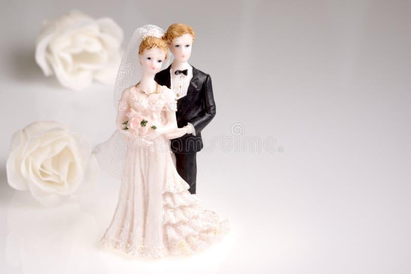 γάμος ειδωλίων ζευγών στοκ εικόνα με δικαίωμα ελεύθερης χρήσης