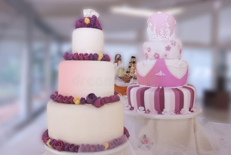 γάμος κέικ στοκ φωτογραφίες με δικαίωμα ελεύθερης χρήσης