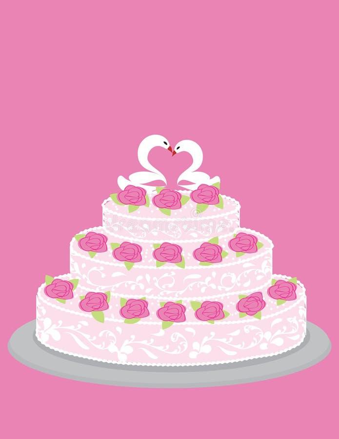 γάμος κέικ ελεύθερη απεικόνιση δικαιώματος