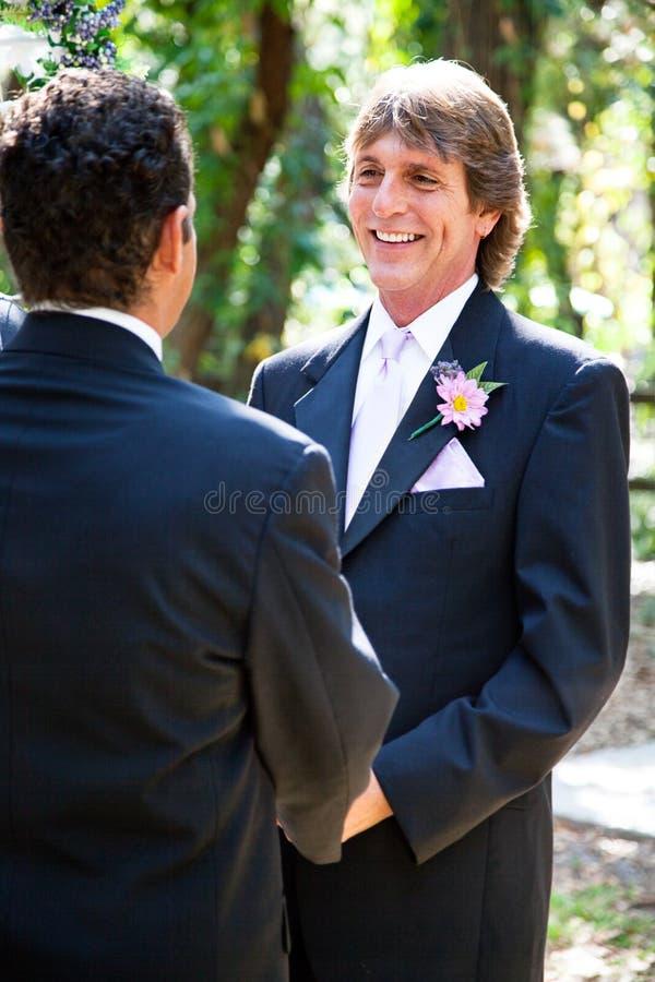 Γάμος ομοφυλοφίλων - όμορφος νεόνυμφος στοκ φωτογραφίες με δικαίωμα ελεύθερης χρήσης