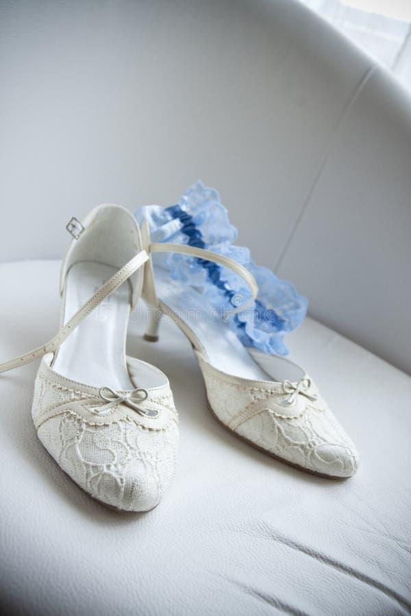 γάμος παπουτσιών νυφών στοκ φωτογραφία με δικαίωμα ελεύθερης χρήσης