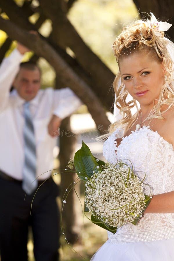 γάμος περιπάτων στοκ εικόνες