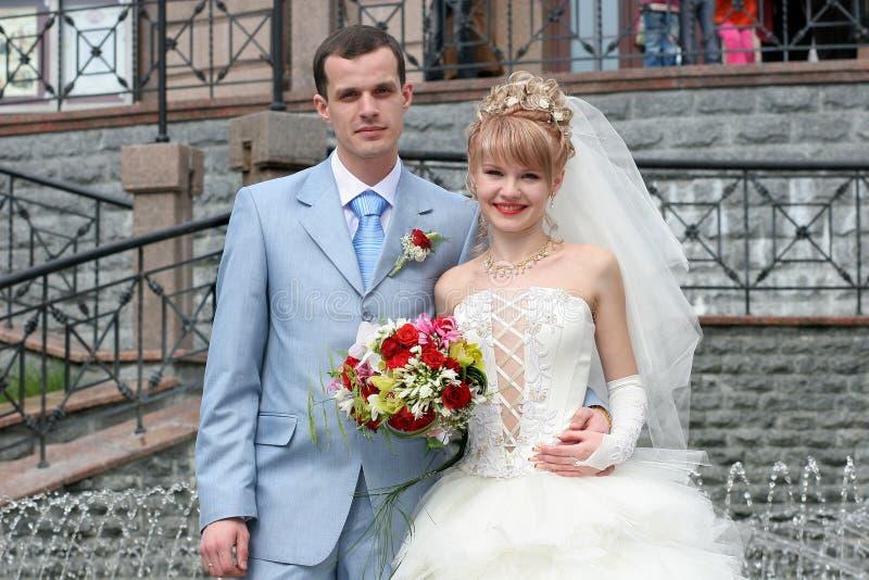 γάμος πορτρέτου εικόνων νεόνυμφων νυφών στοκ φωτογραφία με δικαίωμα ελεύθερης χρήσης