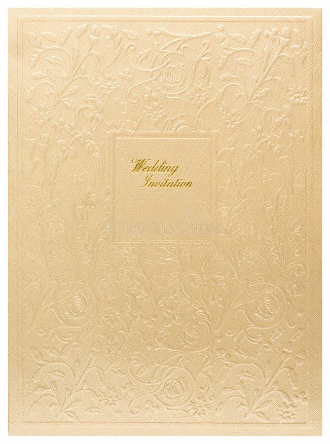 γάμος πρόσκλησης καρτών ελεύθερη απεικόνιση δικαιώματος