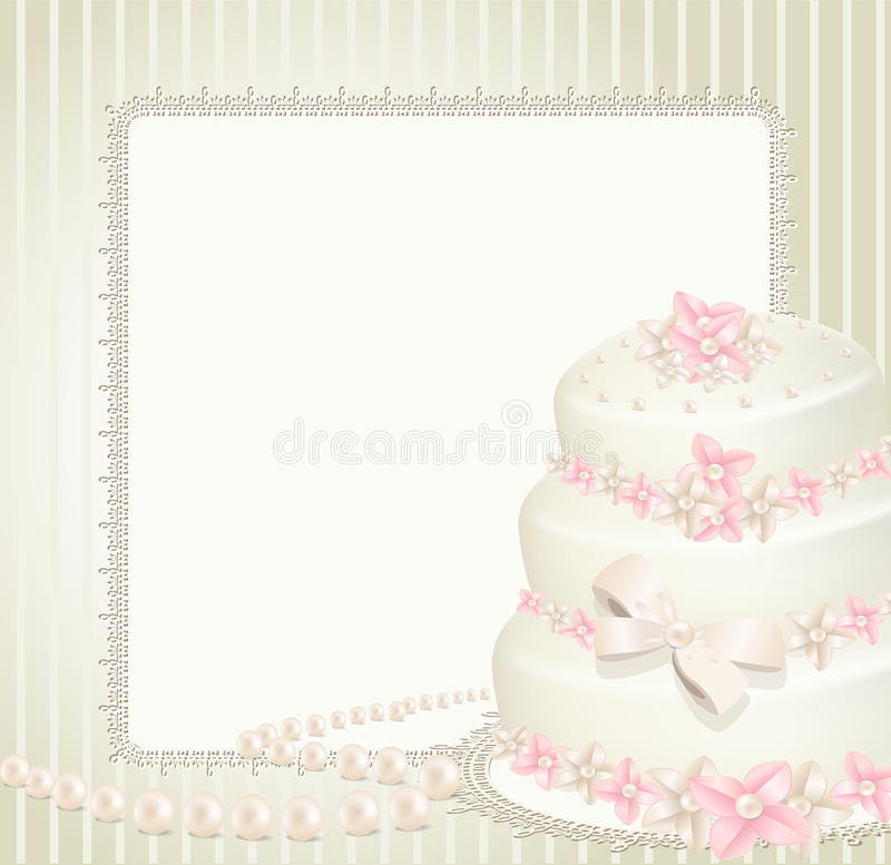γάμος πρόσκλησης χαιρετ&iota ελεύθερη απεικόνιση δικαιώματος