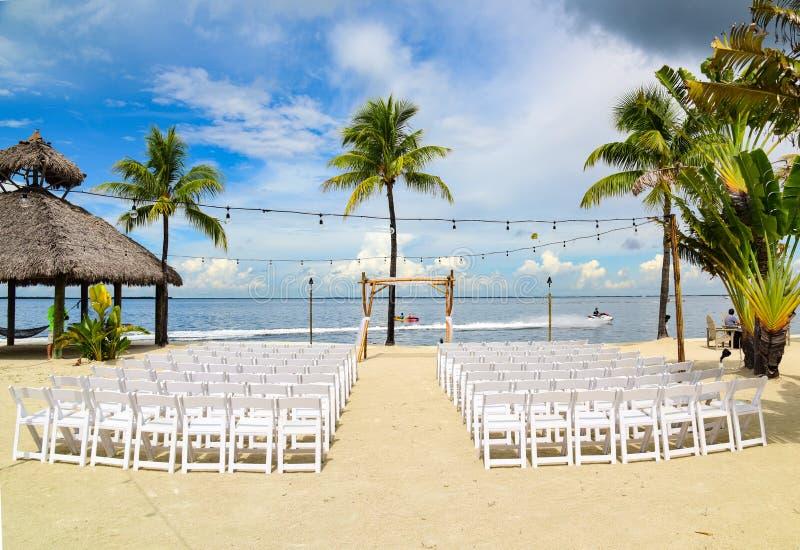 Γάμος στην παραλία στοκ εικόνα