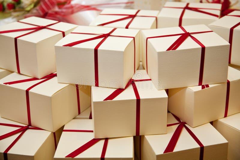 γάμος φιλοξενουμένων δώρ&o στοκ φωτογραφίες
