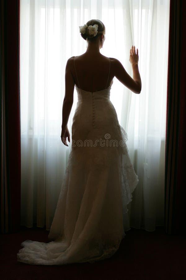 γάμος φορεμάτων νυφών στοκ εικόνες