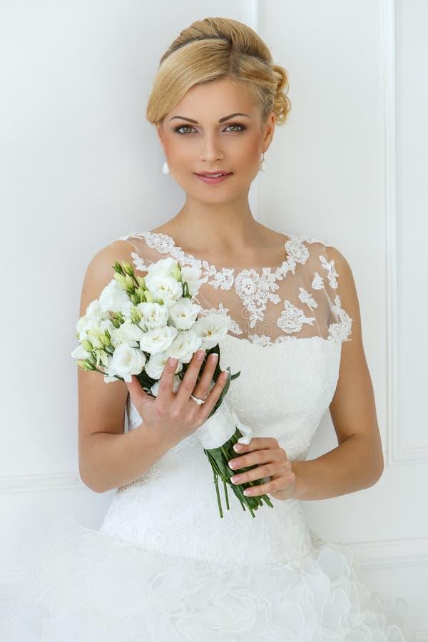 γάμος όμορφη νύφη στοκ εικόνες