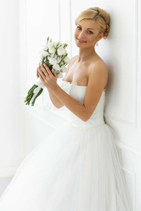 γάμος όμορφη νύφη στοκ φωτογραφία