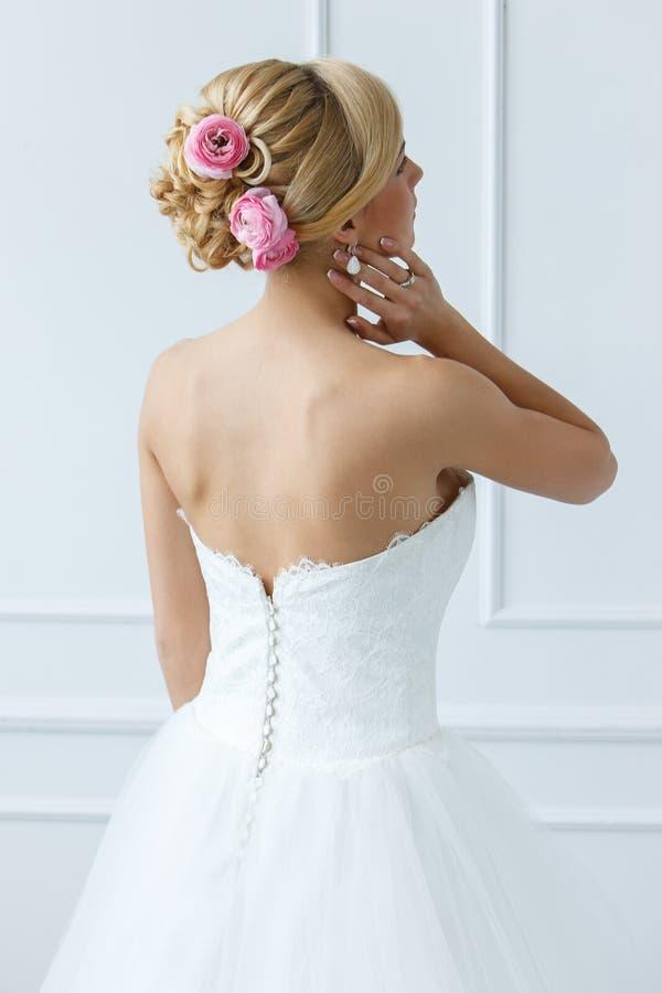 γάμος όμορφη νύφη στοκ εικόνα
