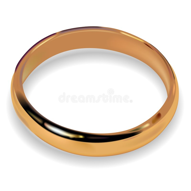 γάμος 01 δαχτυλιδιών διανυσματική απεικόνιση