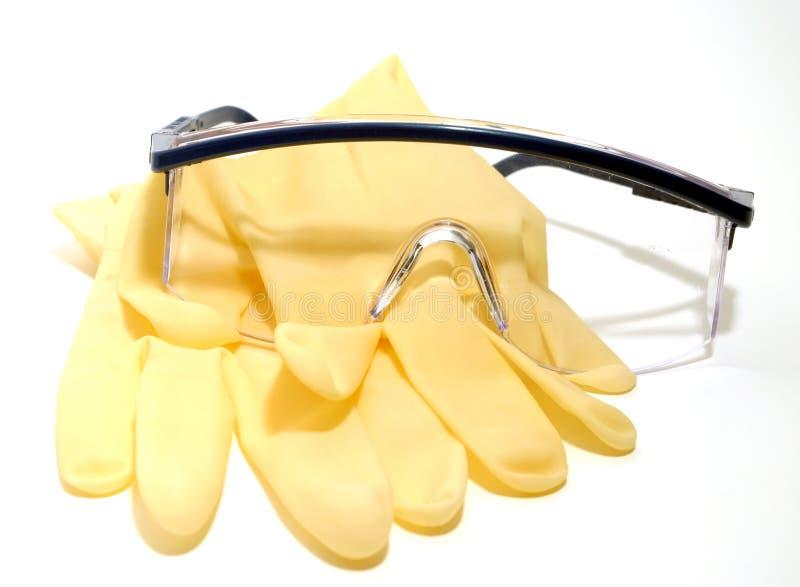 γάντια γυαλιών στοκ εικόνα με δικαίωμα ελεύθερης χρήσης