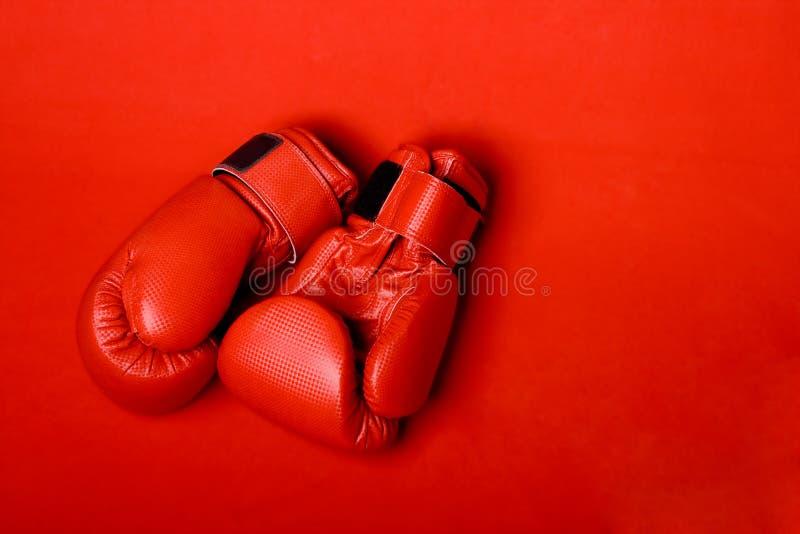 γάντια κιβωτίων στοκ φωτογραφίες με δικαίωμα ελεύθερης χρήσης
