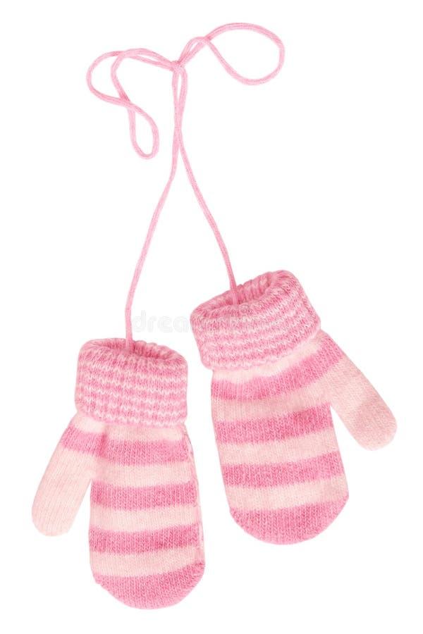 γάντια s μωρών στοκ εικόνες