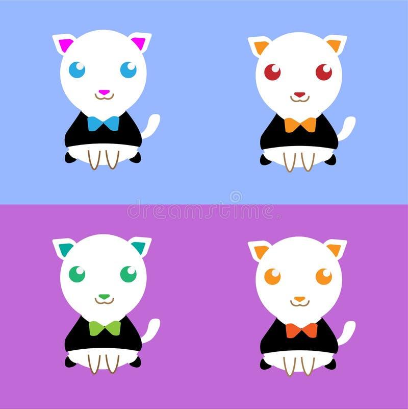 Γάτα στο κοστούμι στοκ φωτογραφίες με δικαίωμα ελεύθερης χρήσης