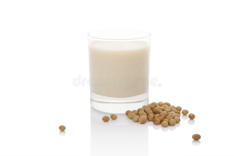 Γάλα σόγιας. στοκ φωτογραφίες