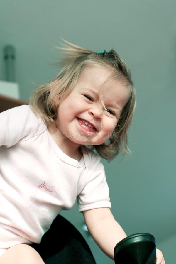 γέλιο μωρών στοκ εικόνες