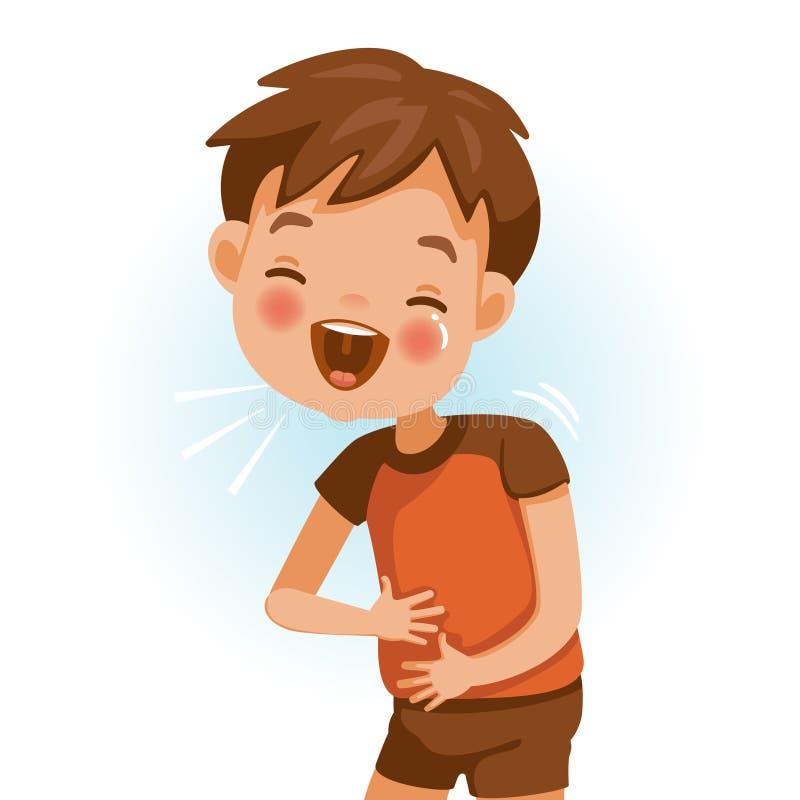 Γέλιο παιδιών απεικόνιση αποθεμάτων