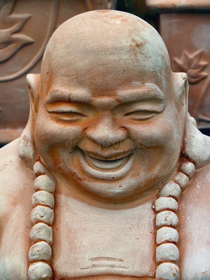 γέλιο του Βούδα στοκ εικόνες