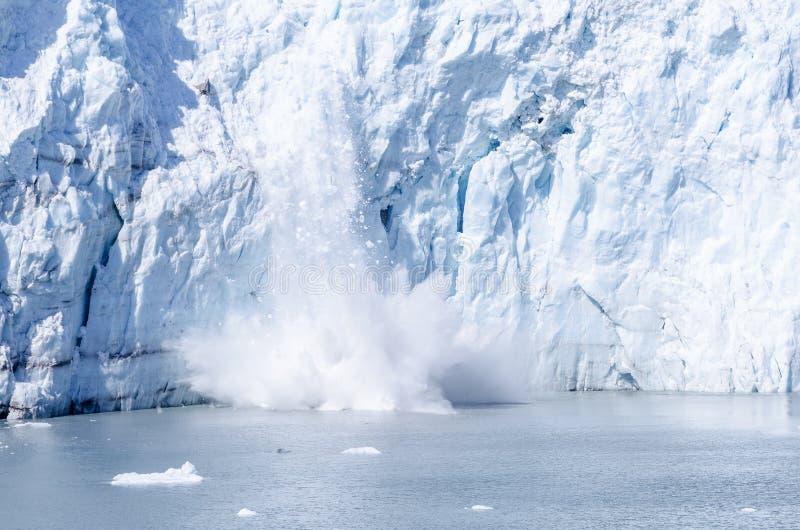 Γέννηση του παγετώνα της Marguerite στην Αλάσκα #1 στοκ φωτογραφία με δικαίωμα ελεύθερης χρήσης