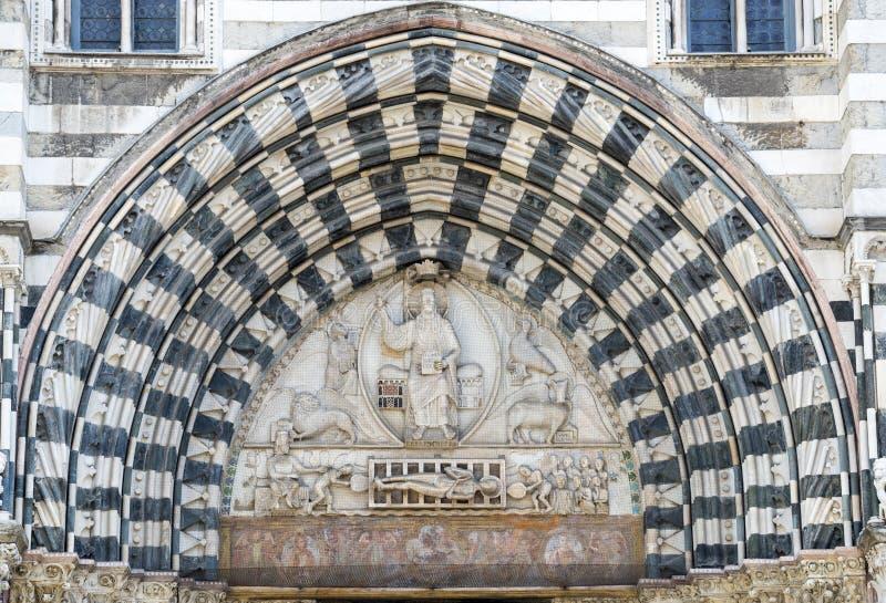 Γένοβα (Ιταλία), καθεδρικός ναός στοκ εικόνες
