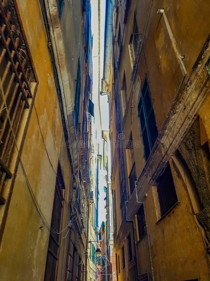Γένοβα Ιταλία στοκ εικόνα