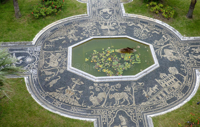 Γένοβα, Λιγυρία, Ιταλία, Ευρώπη, βασιλικό παλάτι στοκ φωτογραφίες