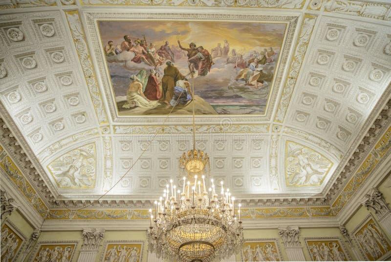 Γένοβα, Λιγυρία, Ιταλία, Ευρώπη, βασιλικό παλάτι στοκ φωτογραφία με δικαίωμα ελεύθερης χρήσης