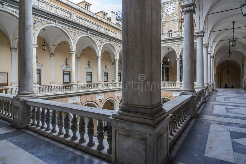 Γένοβα, Λιγυρία, Ιταλία, Ευρώπη, tursi doria παλατιών στοκ εικόνες με δικαίωμα ελεύθερης χρήσης