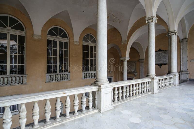 Γένοβα, Λιγυρία, Ιταλία, Ευρώπη, tursi doria παλατιών στοκ φωτογραφίες με δικαίωμα ελεύθερης χρήσης