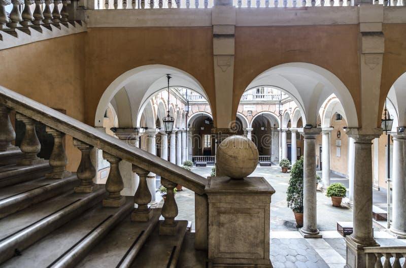 Γένοβα, Λιγυρία, Ιταλία, Ευρώπη, tursi doria παλατιών στοκ φωτογραφίες
