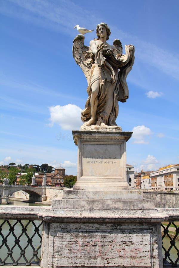 Download γέφυρα Άγιος αγγέλου στοκ εικόνες. εικόνα από ιταλικά - 22776846
