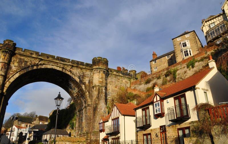 Γέφυρα Αγγλία βασικών οδογεφυρών Knaresborough στοκ φωτογραφίες με δικαίωμα ελεύθερης χρήσης