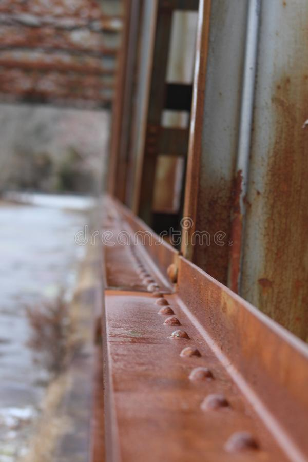γέφυρα αγροτική στοκ εικόνα με δικαίωμα ελεύθερης χρήσης