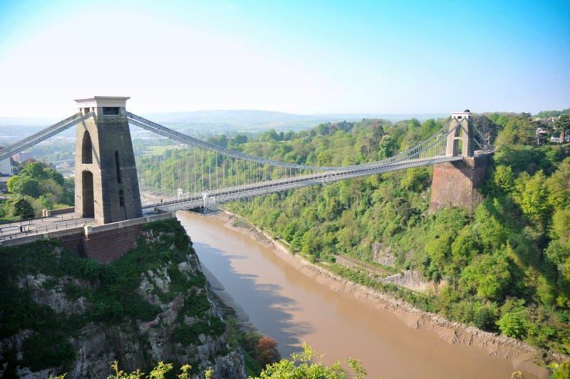 Γέφυρα αναστολής του Clifton στοκ φωτογραφίες