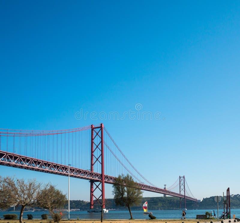 Γέφυρα Απριλίου στοκ φωτογραφία