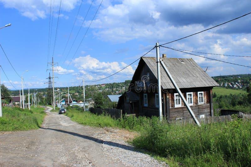 Γέφυρα από Perm στο nord στοκ φωτογραφίες
