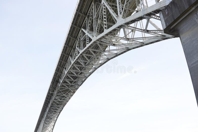 Γέφυρα αυγής - Σιάτλ, Ουάσιγκτον στοκ φωτογραφία με δικαίωμα ελεύθερης χρήσης